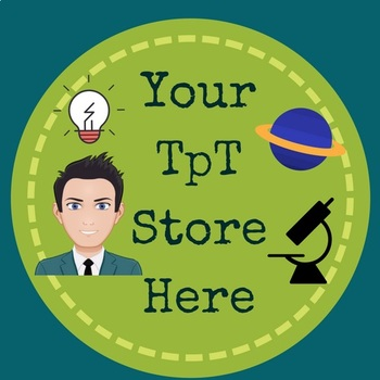 TpT Science Logo, Banner and Label Design Bundle