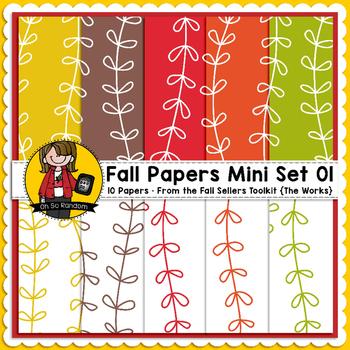 TpT Seller Toolkit {Fall Paper Mini Set 01}
