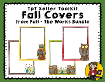 TpT Seller Toolkit {Fall Product Covers}