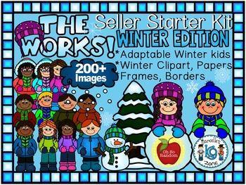 TpT Seller Toolkit {Winter - The Works}