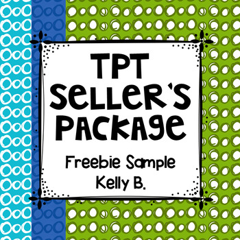 TpT Seller's Freebie Sample