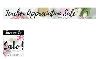 TpT Storewide Sale Banners