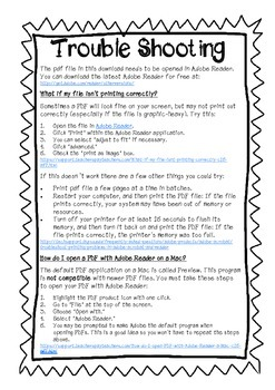 TpT Troubleshooting Tips