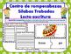 Tr Centro de Silabas Trabadas Grupos Consonanticos Station
