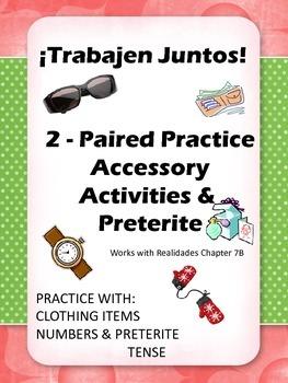 Trabajen Juntos - Paired Practice Activities for Accessori