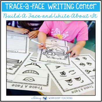 Trace A Face Literacy Center - Whimsy Workshop Teaching