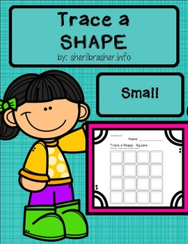 Trace A Shape Basics Prek-K SMALL Pack