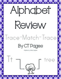 Trace - Match - Trace Alphabet Review