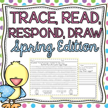 Trace, Read, Respond, Draw: Handwriting & Reading Comprehe