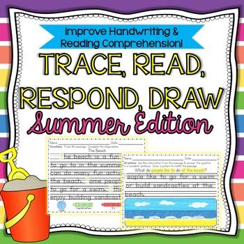 Handwriting & Reading Comprehension SUMMER Ed.