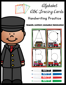 December Trace a Letter ABC Station