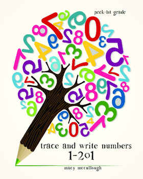Trace and Write Numbers 1-201