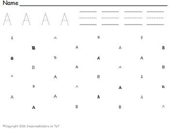 Trace it, Write it, Find it (Uppercase Letters)