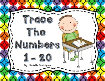 Trace the Numbers 1 - 20