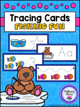 Tracing Cards for Letters, Numbers, Shapes, and Lines - Fi