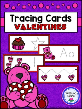 Tracing Cards for Letters, Numbers, Shapes, and Lines - Va