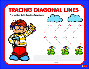 Tracing Diagonal Lines  Workbook