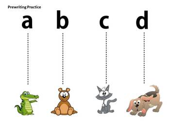 Tracing Line Alphabet Theme