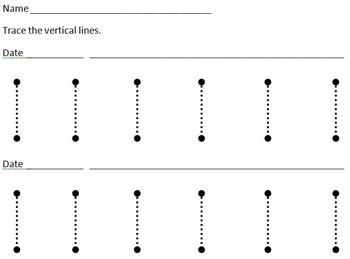 Tracing Lines Practice