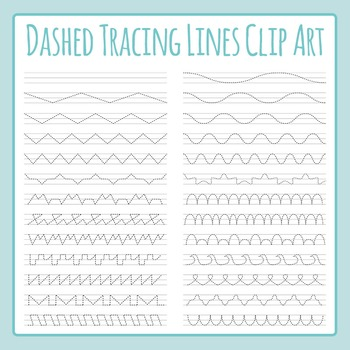 Tracing Lines for on Lines for Fine Motor Control / Left t