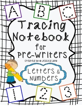 Tracing Notebook for Pre-Writers