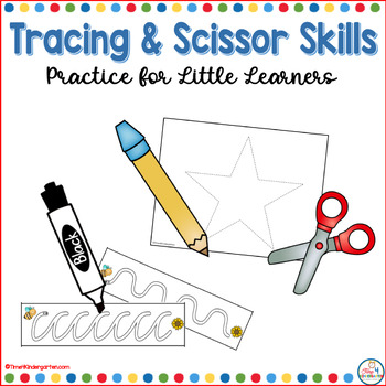 Tracing and Scissor Skills for Little Learners