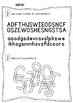 Tracing letter S - Letter of the week - 11 preschool and k