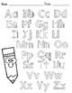 Alphabet Handwriting