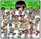 Track & Field Sports Clip Art Bundle