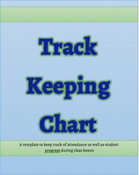 Track Keeping Chart