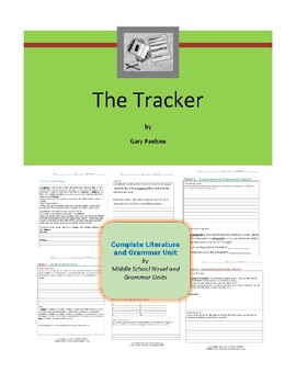 Tracker - Paulsen- Complete Literature and Grammar Unit