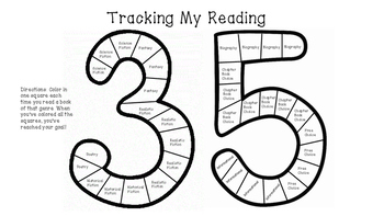 Tracking My Reading: 35 Books in a School Year (FREEBIE!)