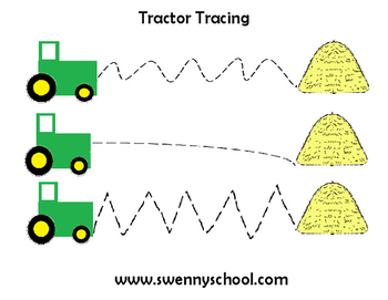 Tractor Tracing Page