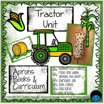 Tractor Unit (Literacy and Math Activities)