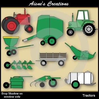 Tractors Clip Art