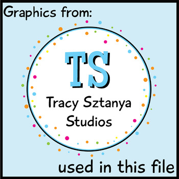 Tracy Sztanya Studios Credit Buttons/Images - FREE
