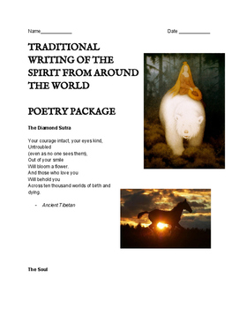 Traditional / Ancient Poetry Selections - Spiritual - With