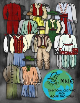 Traditional Clothing Male Set 1