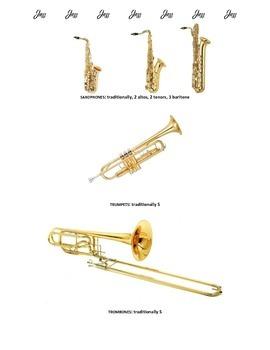 Traditional Jazz Instruments/Jazz Instrumentation