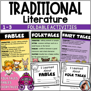 Traditional Literature ~ Fables ~ Fairy Tales ~ Folk Tales