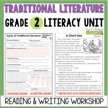 Traditional Literature Reading & Writing Unit: Grade 2...4