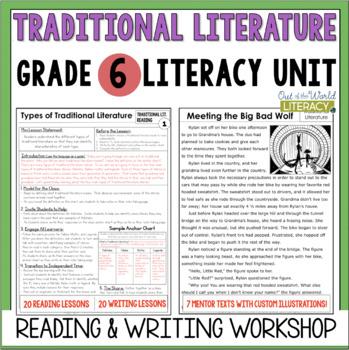 Traditional Literature Reading & Writing Unit Grade 6: 40
