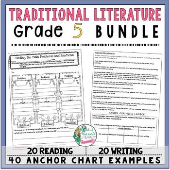 Traditional Literature Unit of Study: Grade 5 BUNDLE
