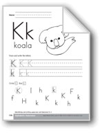 Traditional/Modern Manuscript Writing: Kk
