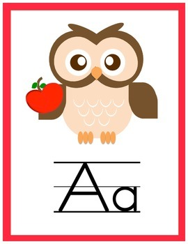 Traditional Owl ABCs