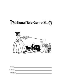 Traditional Tale Genre Study Booklet
