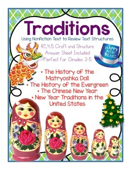 Traditions! Nonfiction Differentiated Text. Text Structure