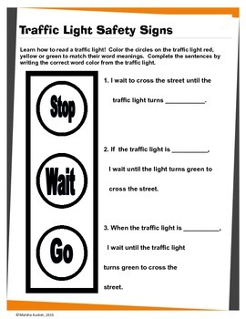 Pedestrian Safety and Traffic Lights