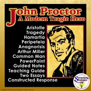 essay about john proctor tragic hero John proctor john proctor is the protagonist and the tragic hero of the story the crucible he was highly respected in the town of salem john proctor was a sympathetic character, who tried hard to do what is just.