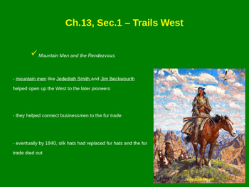 Trails West - Santa Fe Trail, Oregon Trail, Brigham Young
